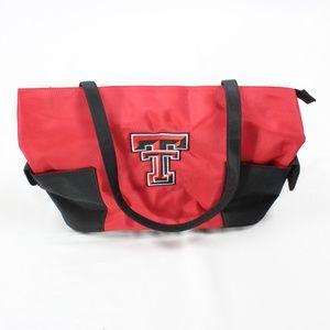 NEW Texas Tech TOTE Canvas Purse Red Raiders TT